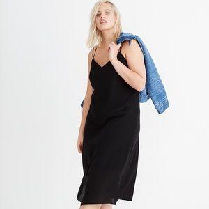 NWT Madewell silk cami slip dress